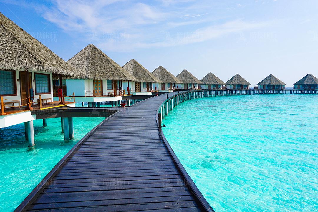 马尔代夫蜜都帕茹岛水屋