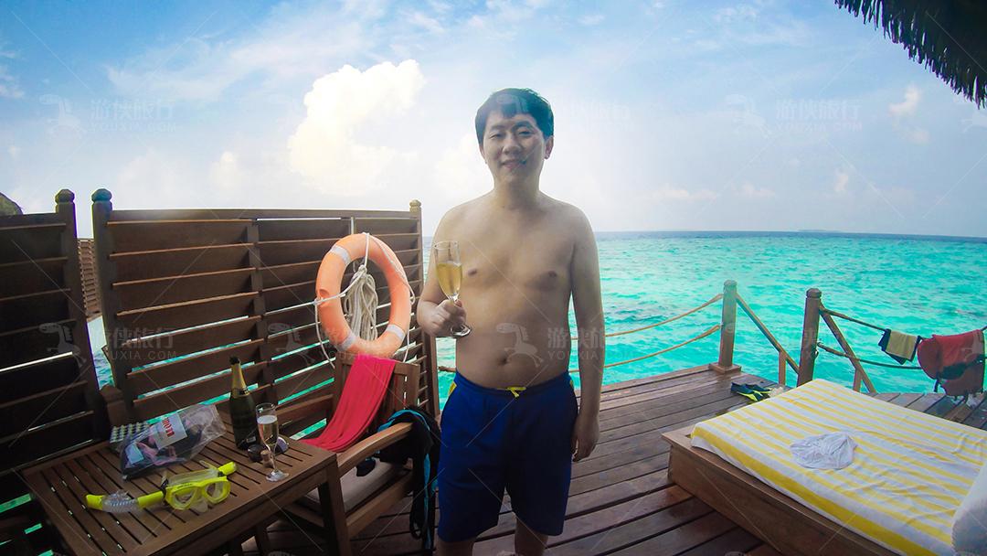 马尔代夫蜜都帕茹岛浮潜