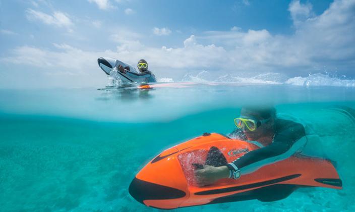 马尔代夫W宁静岛水上活动