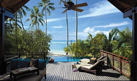 马尔代夫香格里拉 Shangri-La's Villingili 6天4晚自由行(六星级的顶级奢华岛屿、6公里的极美海岸线和2公里纯白色沙灘、房间有私人泳池)