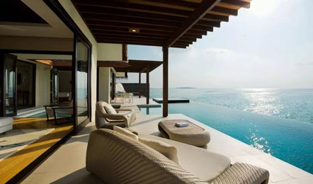 马尔代夫尼亚玛Niyama6天4晚自由行(拥有全球第一家水下Night Club、水飞上岛、中文服务、赠送蜜月服务))