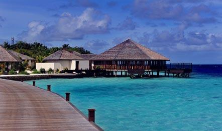 马尔代夫伊露岛Iru fushi beach6天4晚自由行( 希尔顿旗下的度假酒店、含早餐BB、中文服务、水飞上岛、儿童乐园)